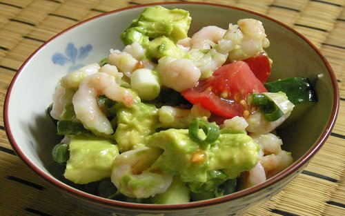shrimp-and-veggie-salad