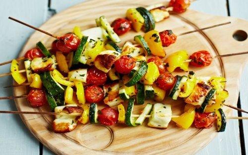 veggies-on-skewers