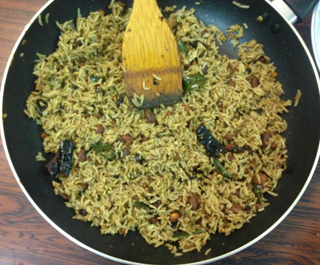 Tamil Style Tamarind Rice