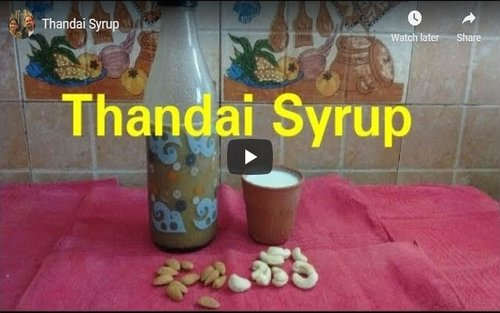 Thandai Syrup